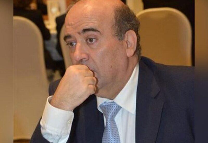 The caretaker Lebanese Minister of Foreign Affairs Charbel Wehbe