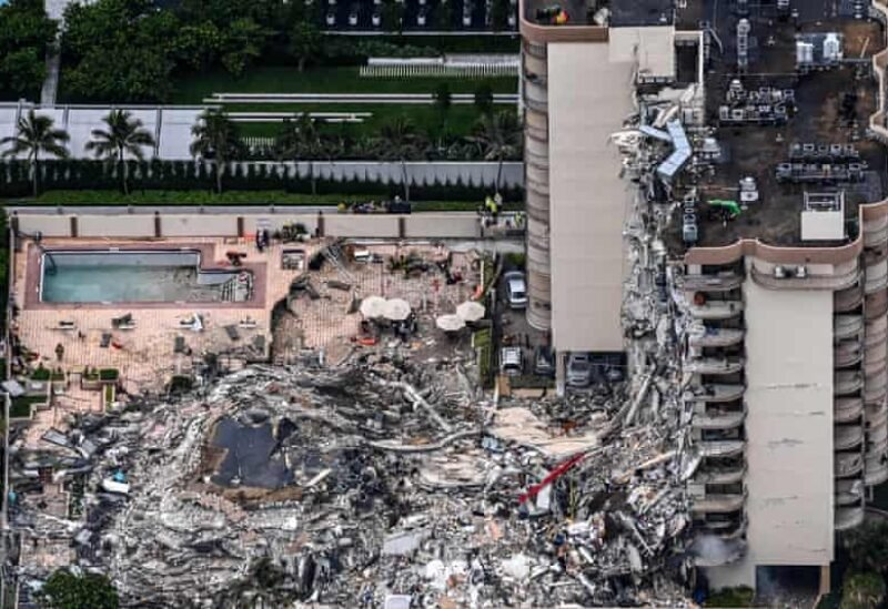 3 days ago The Guardian Briton among missing in Miami building collapse   Miami condo collapse   The Guardian