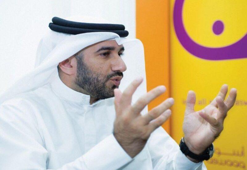 Abdul Baset Al Janahi (right), chief executive of Dubai SME
