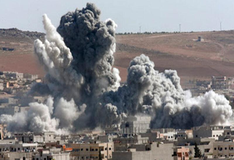 Air raids in Syria