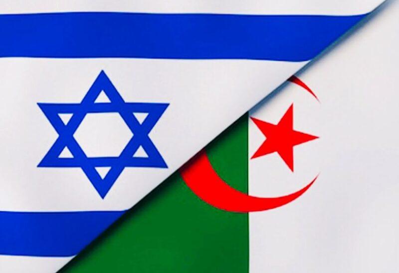 Algerian and Israeli flags