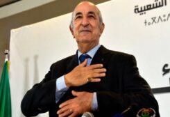 Algeria's President Abdelmadjid Tebboune
