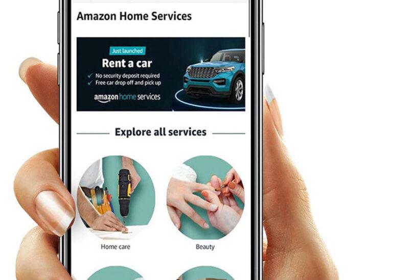 Amazon provides car rental service in UAE