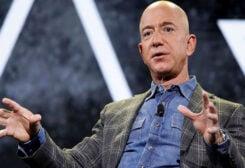 Amazon's billionaire Jeff Bezos