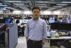 Apple Daily editor-in-chief Ryan Law