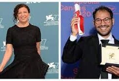 Arab filmmakers Kaouther Ben Hania and Sameh Alaa
