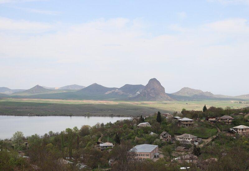Azerbaijani Armenian border