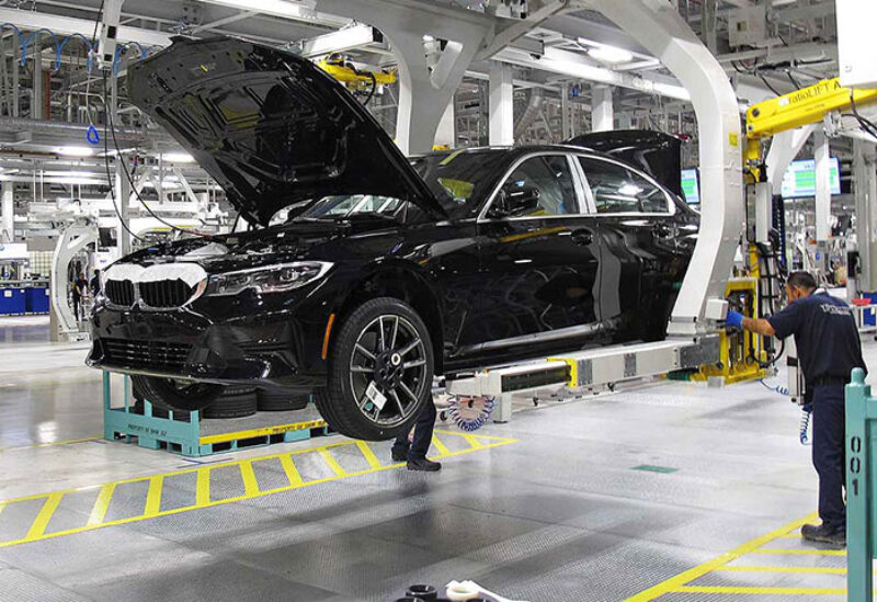 BMW factories in China