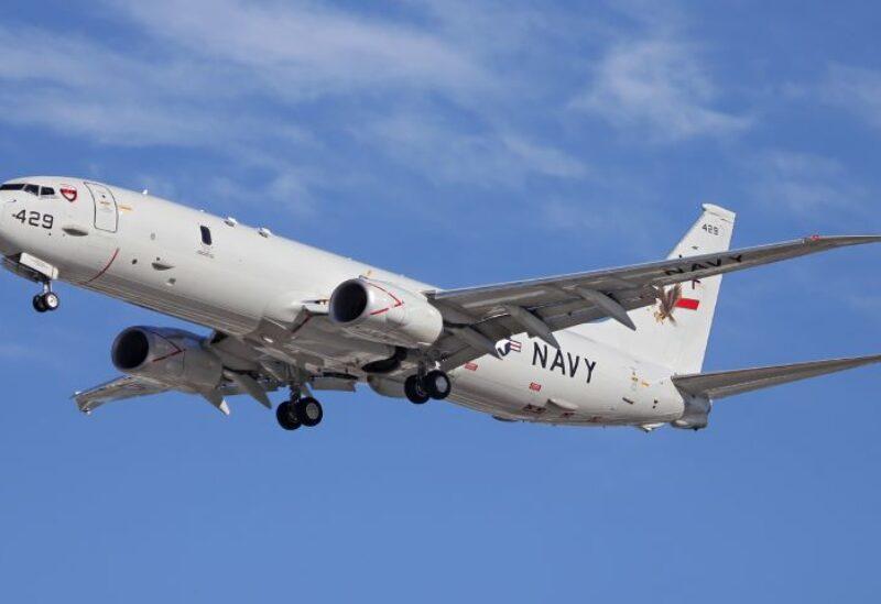Boeing (BA.N) P-8A maritime patrol aircraft