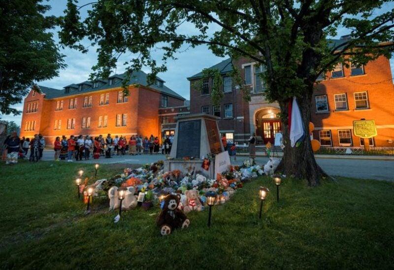 Canada indigenous children mass grave