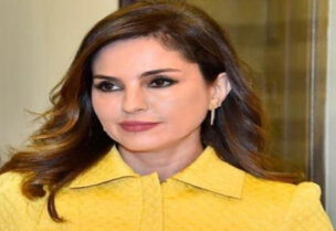 Caretaker Minister of Information Manal Abdel Samad