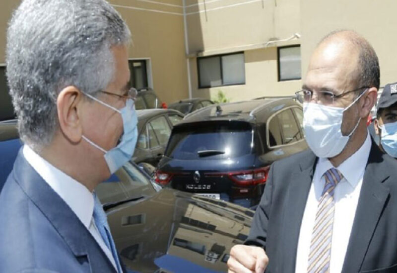 Dr Hamad Hassan and Ferid Belhaj