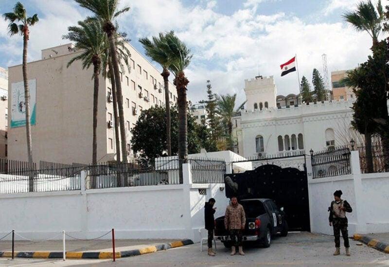 Egyptian Embassy in Tripoli