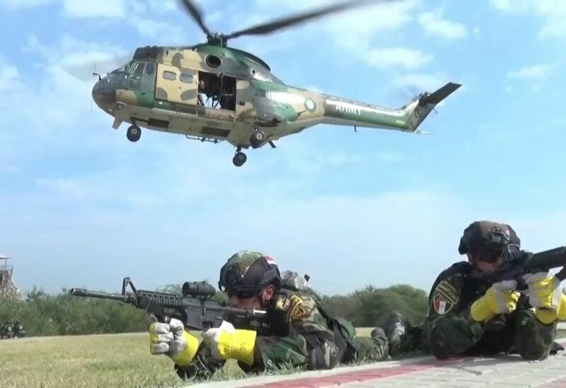Egyptian Pakistani military drill