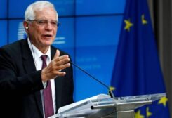 European Commissioner for Foreign Policy Josep Borrell