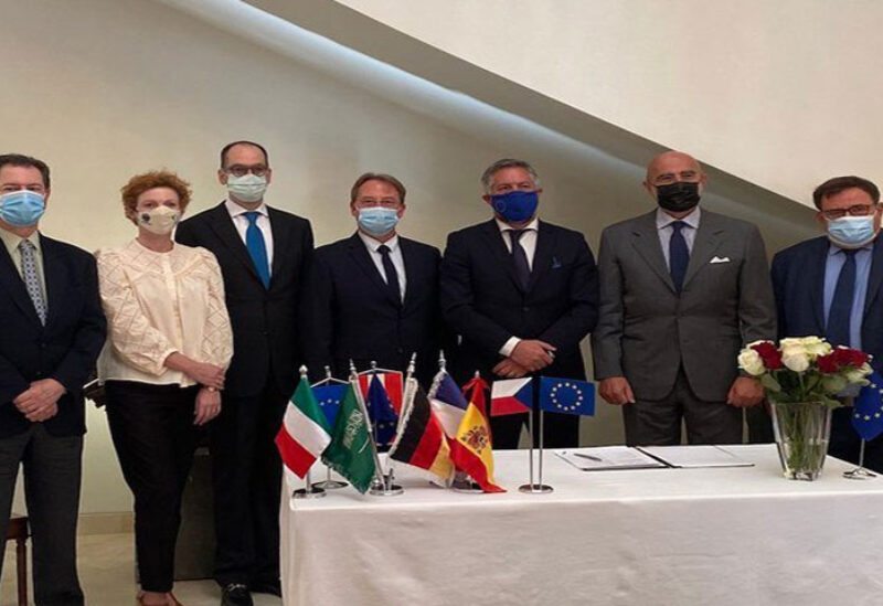 European nations signed a charter with Saudi Arabia