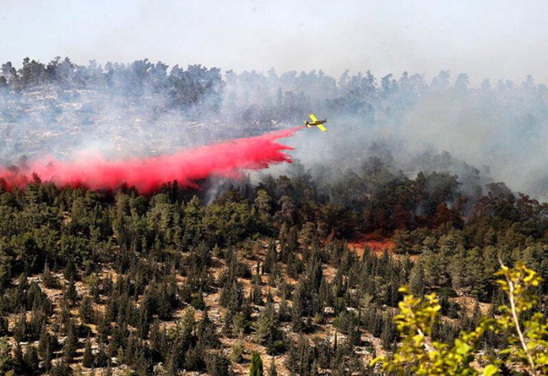 Fire breaks in Jerusalem