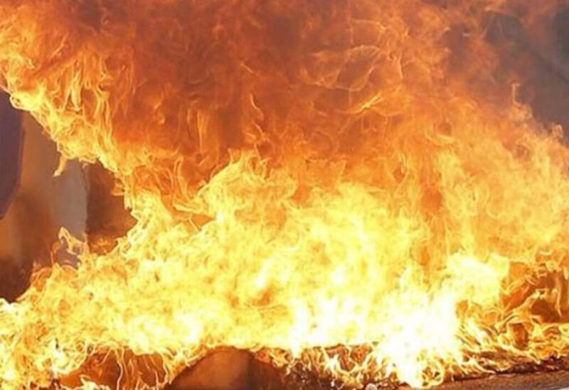 Fire engulfed in a martial art school in China