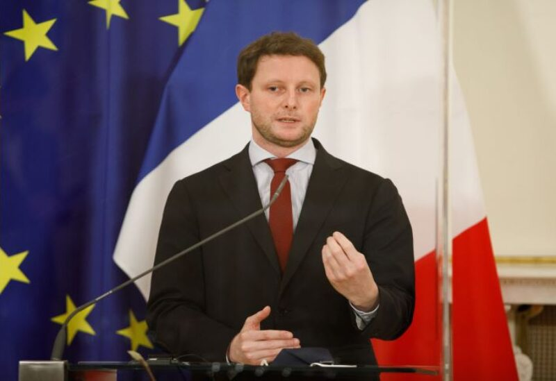 French European Affairs junior minister Clement Beaune