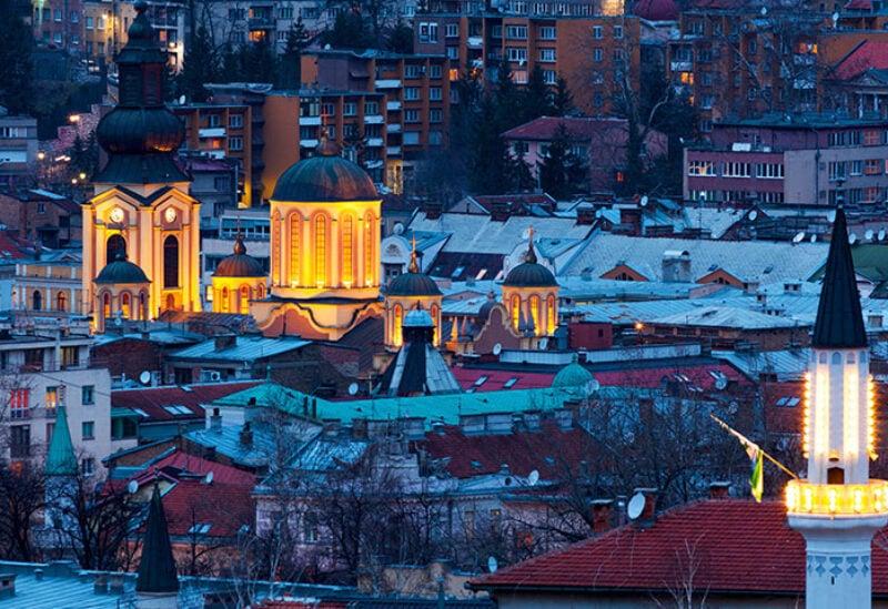 General overview of Sarajevo