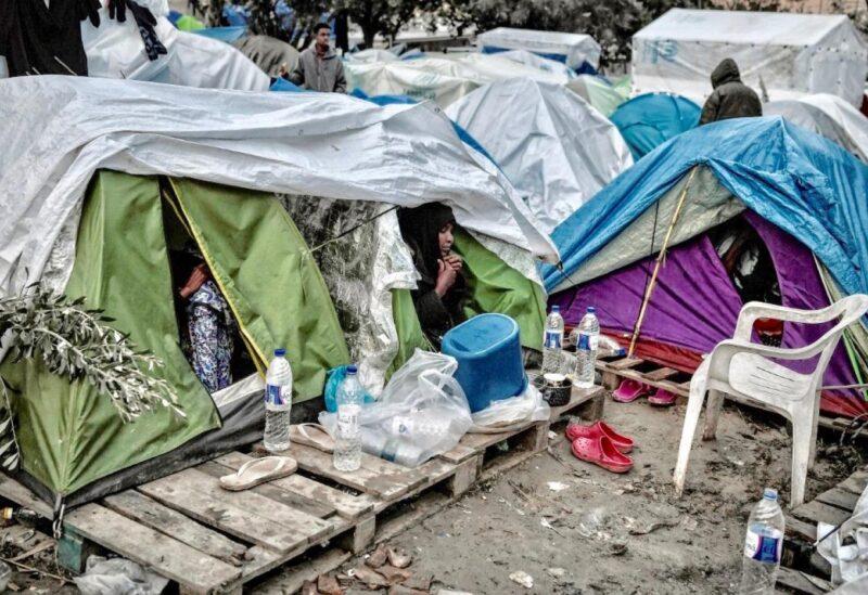 Greek refugee camps