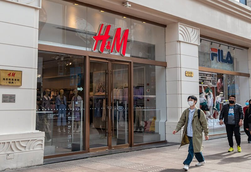 H&M stores in China