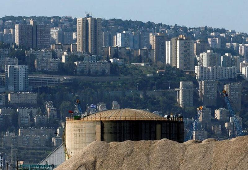 Haifa chemical refinery