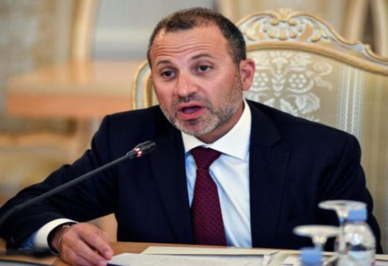 Head of Free Patriotic Movement MP Gebran Bassil