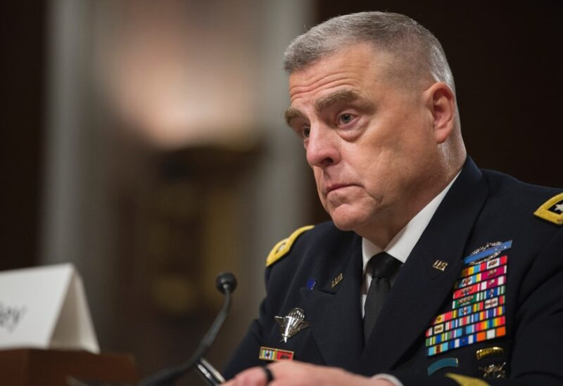 Head of US Joint Chiefs of Staff General Mark Milley