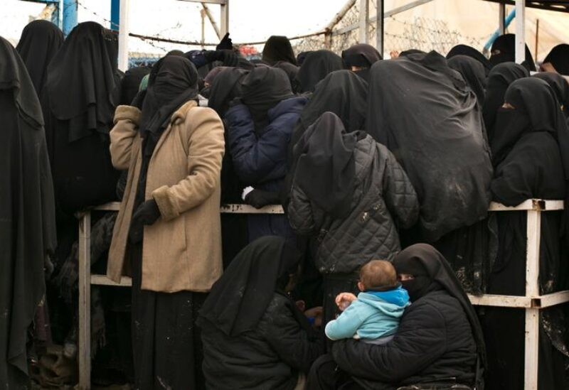 ISIS families' camps in Syria