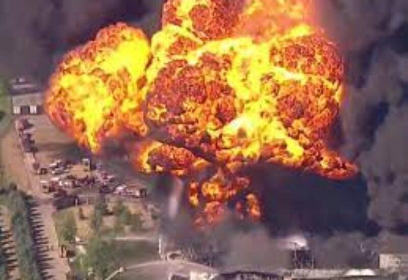Illinois chemical explosion