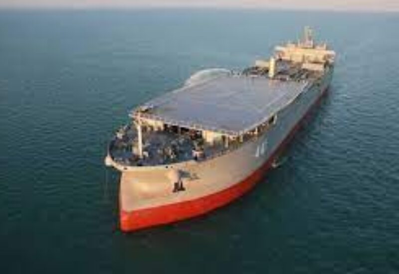 Iran-made warship Makran.