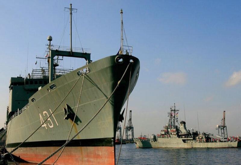 Iranian Kharg replenishment ship