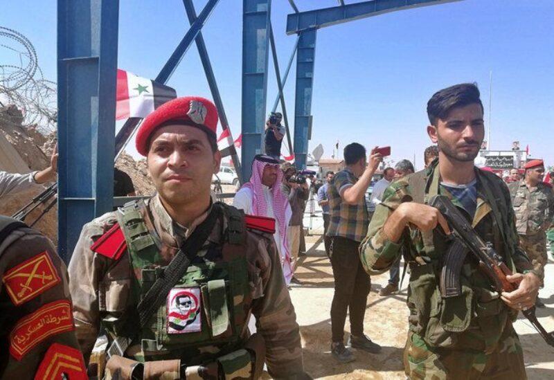 Iraq, Syria border