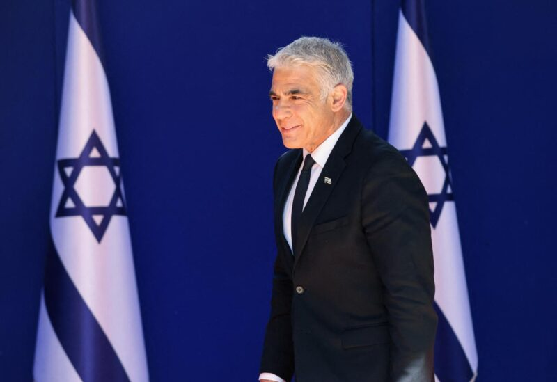 Israeli Foreign Minister Yair Lapid