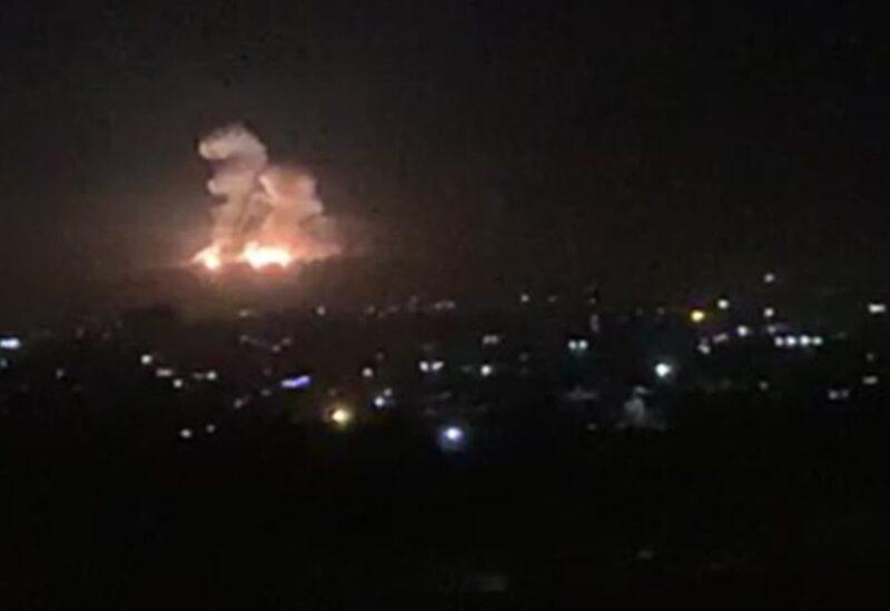 Israeli raids on Damascus