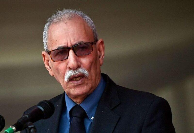 Leader of Western Saharan independence movement Brahim Ghali