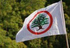 Lebanese Forces flag