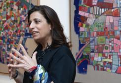Lebanese artist Dinah Diwan