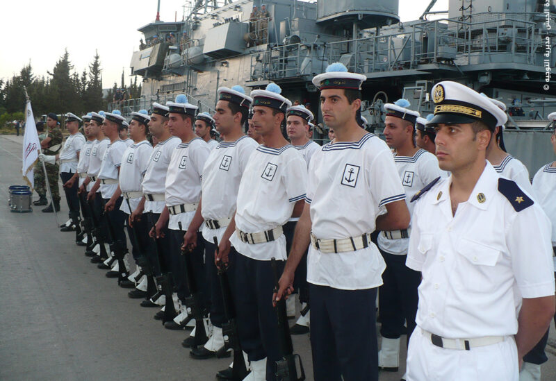 Lebanese naval forces