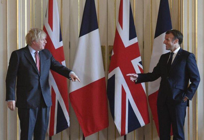Macron and Jhonson