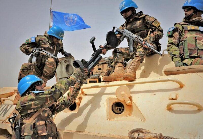 Mali UN troops