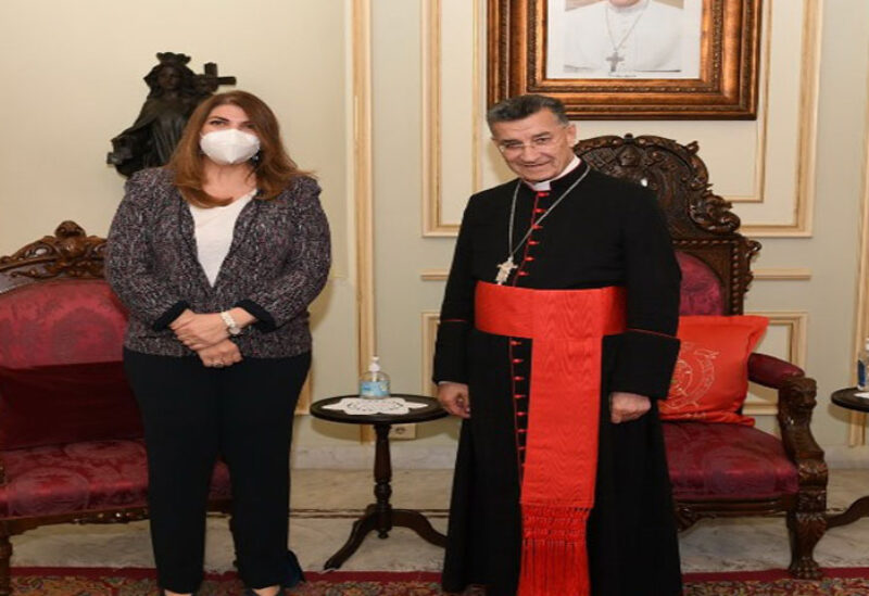Maronite Cardinal meets with Najm