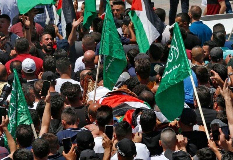 Nizar Banat funeral