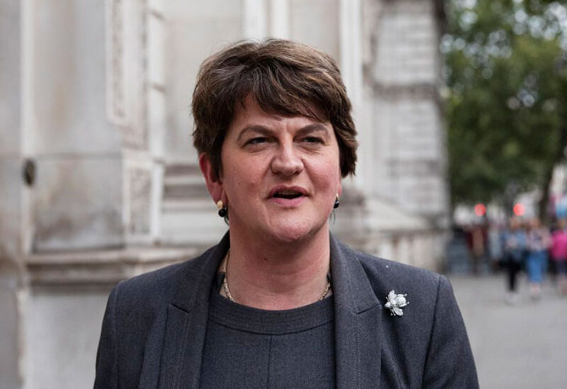 Northern Ireland's First Minister Arlene Foster