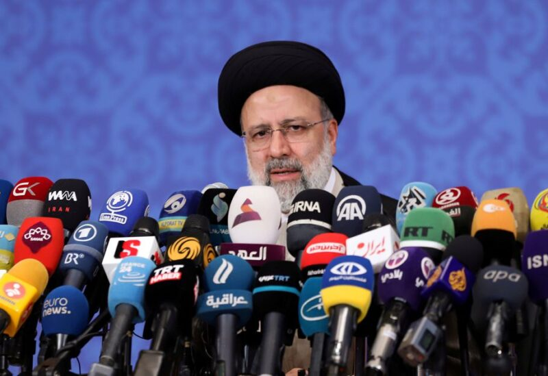 Iran's President-elect Ebrahim Raisi speaks during a news conference in Tehran, Iran June 21, 2021. Majid Asgaripour/WANA (West Asia News Agency) via REUTERS