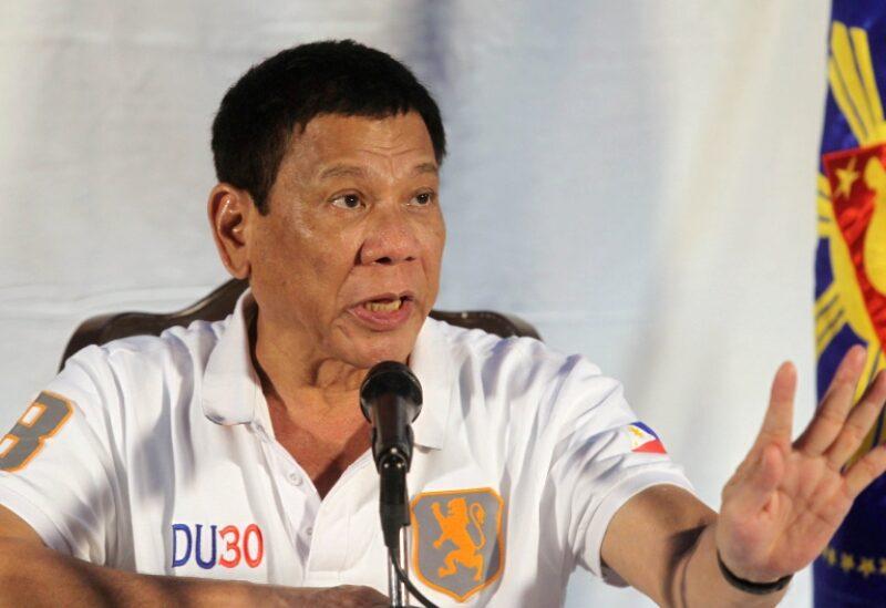 Philippines President Rodrigo Duerte