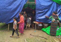 Myanmar displaced