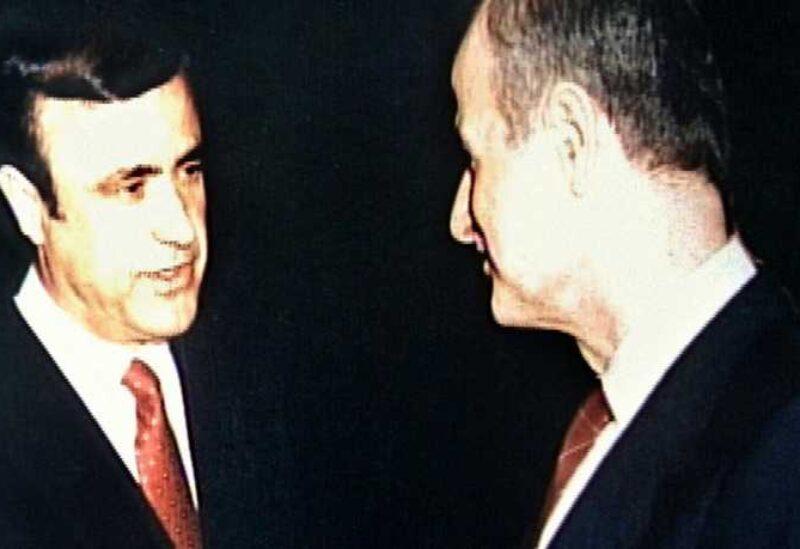 Rifaat and Hafez Assad