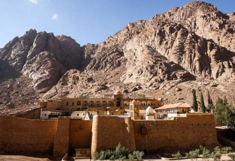 Saint Catherine where the Transfiguration of Jesus is believed to have taken place